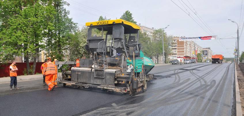 Подрядчики на ремонт дорог Ижевска в 2018 году определятся к середине марта