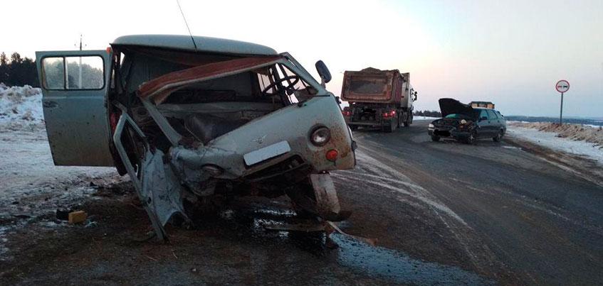 В смертельном ДТП в Сарапульском районе Удмуртии погибли 2 водителя