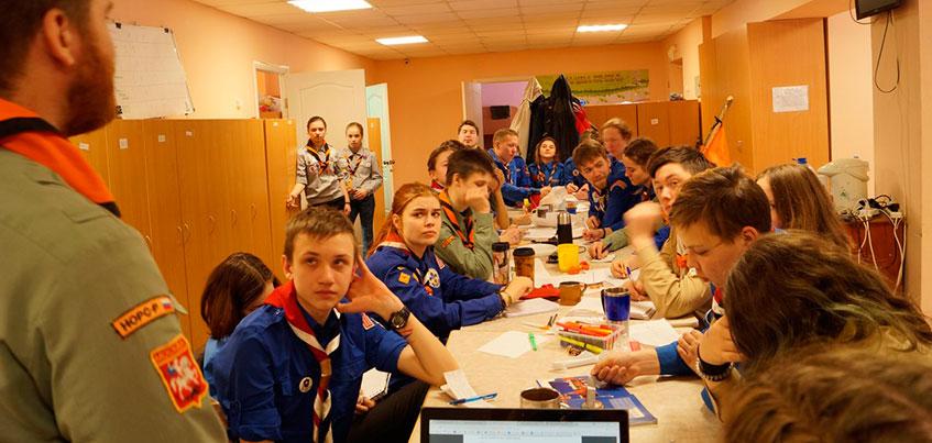 Строевая подготовка и сборы в лесу: в Ижевске прошли курсы для скаутов со всей России