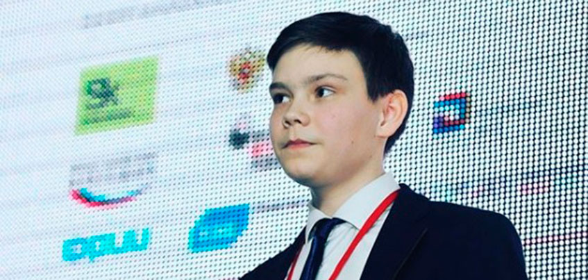 Школьник из Ижевска представил проект роботизированной остановки на StartUp Tour