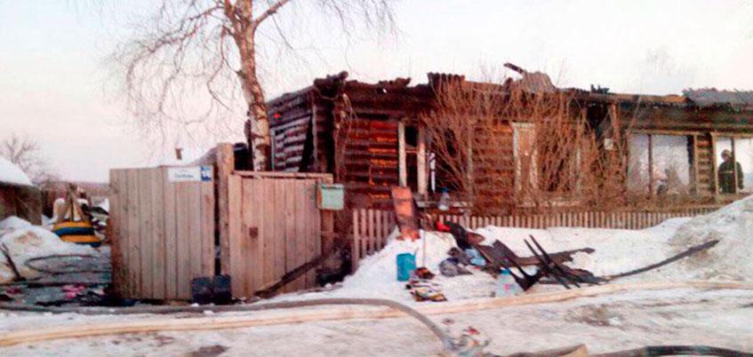 СКР по Удмуртии проводит проверку по факту пожара в Завьяловском районе
