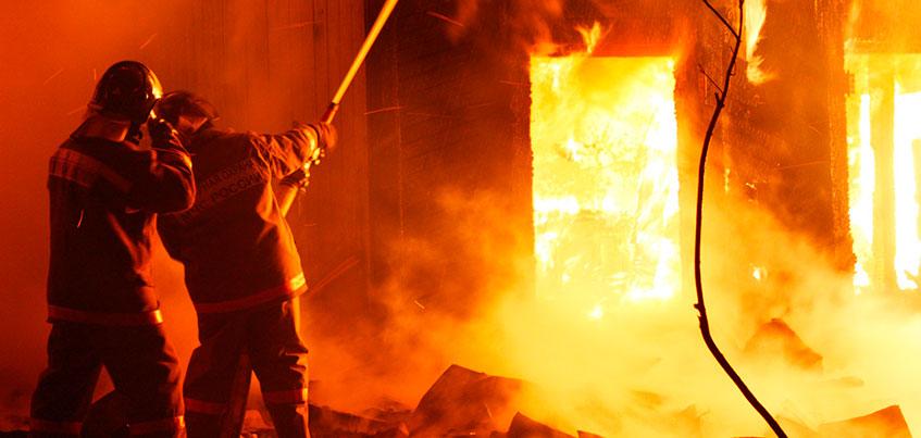 Мужчина погиб при пожаре в Воткинском районе Удмуртии