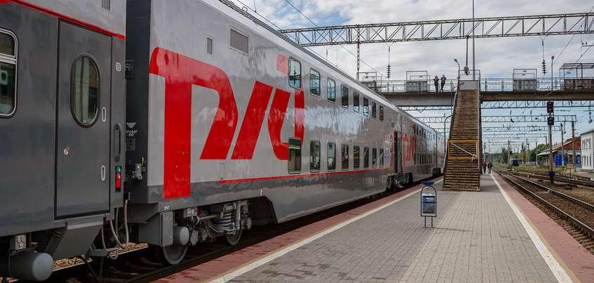 Фирменный поезд сообщением Ижевск-Москва станет двухэтажным