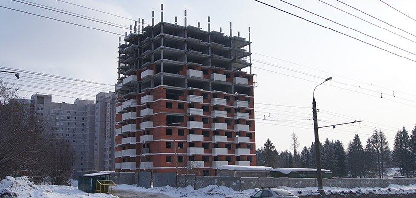 Обманутые дольщики дома на улице Петрова в Ижевске заедут в квартиры в 2019 году