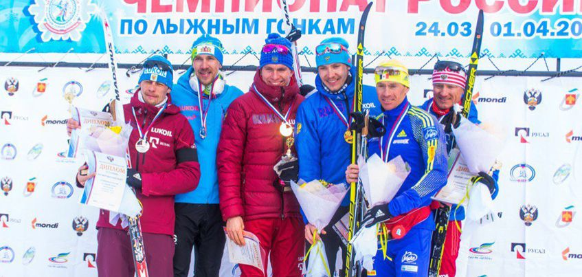Лыжники из Удмуртии Максим Вылегжанин и Дмитрий Япаров стали бронзовыми призерами чемпионата России в командном спринте