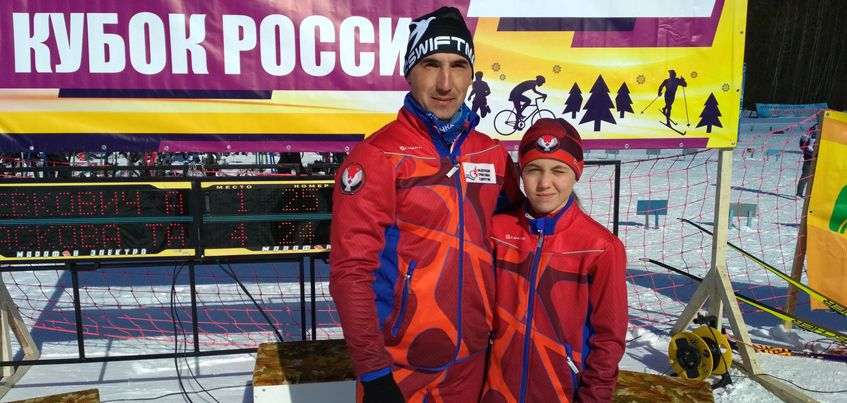 Триатлонисты из Удмуртии Рафик и Рината Гизятовы выиграли этап Кубка России