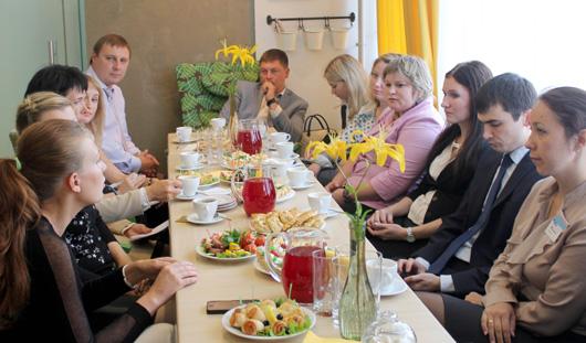 Талан пригласил банки-партнеры на дружескую встречу