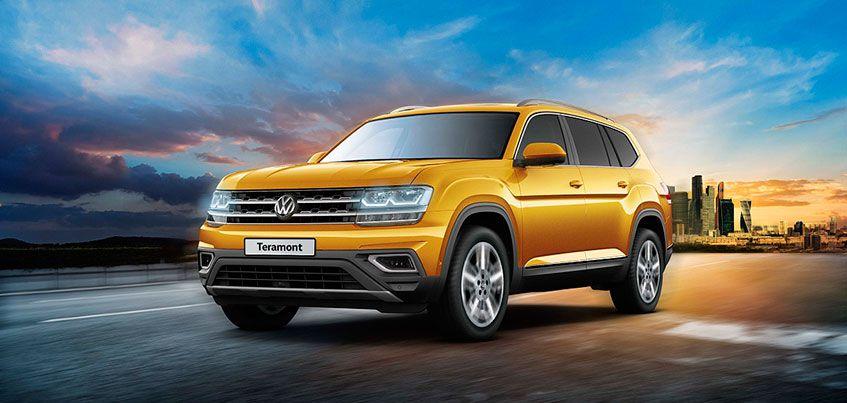 Стали известны цены на новый семейный внедорожник Volkswagen Teramont