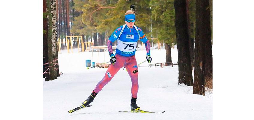 Ижевский биатлонист Александр Поварницын занял на чемпионате России 5-е место
