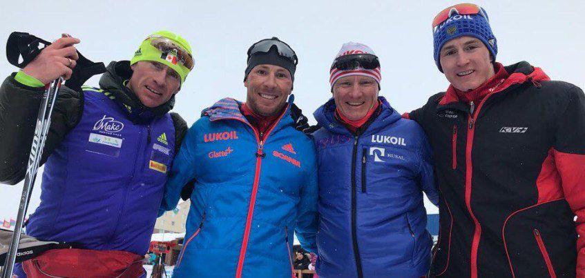 Квартет лыжников из Удмуртии выиграл «серебро» в эстафете на чемпионате России в Сыктывкаре