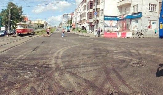 В Ижевске открыли перекресток улиц Советской и Карла Маркса