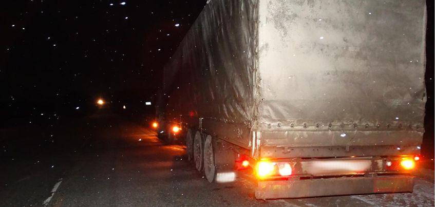 Водитель грузовика насмерть сбил пешехода на трассе Удмуртии