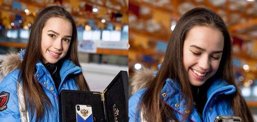 Фигуристке из Ижевска Алине Загитовой подарили эксклюзивный телефон Caviar