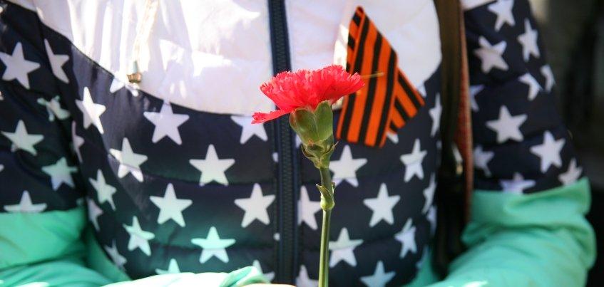 Георгиевские ленточки начнут раздавать с 23 апреля в Ижевске
