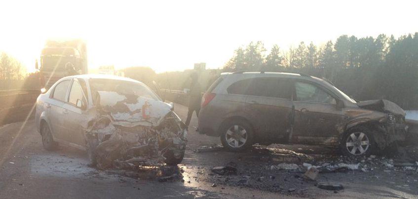 Три человека пострадали в аварии в Воткинском районе Удмуртии