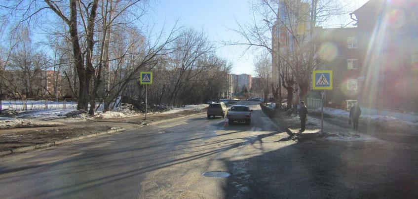 8-летнюю девочку сбили на улице 9-я Подлесная в Ижевске