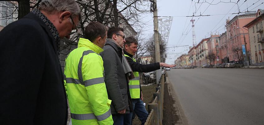В Ижевске проверят дороги, отремонтированные в прошлом году