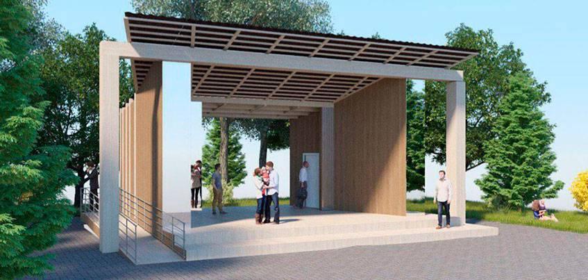 «Открытый сад»: как планируют благоустроить сквер за Администрацией Ижевска