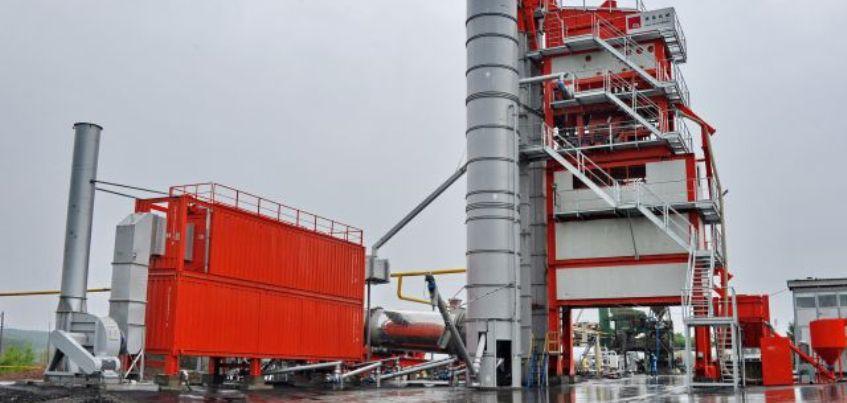 На этой неделе в Ижевске начнет работать асфальтовый завод
