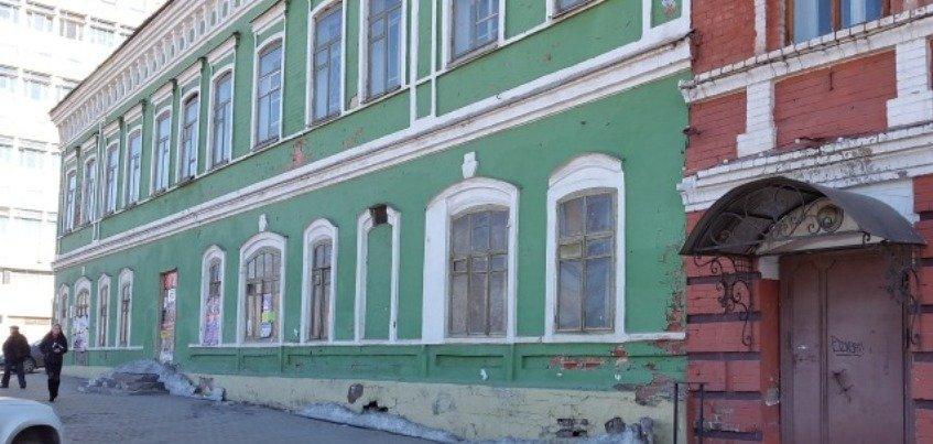 Дом купца Оглоблина на улице Горького в Ижевске выставят на конкурс