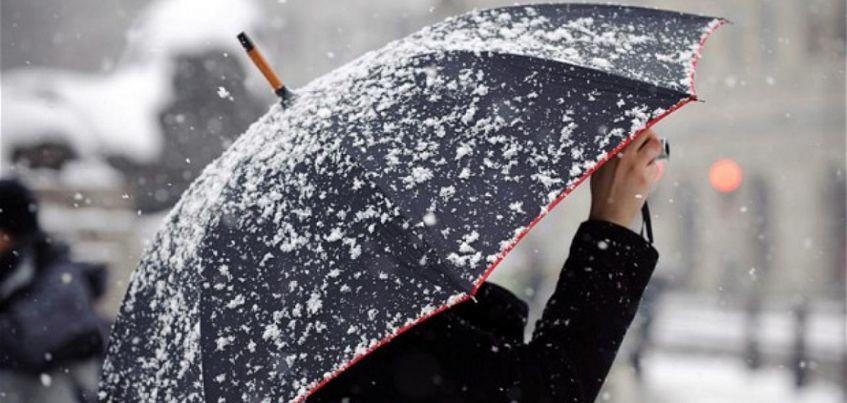 В конце недели в Ижевске ожидается снег с дождем