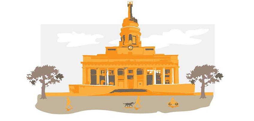 Потерявший лицо памятник и затопленные тротуары: о чем говорит Ижевск этим утром