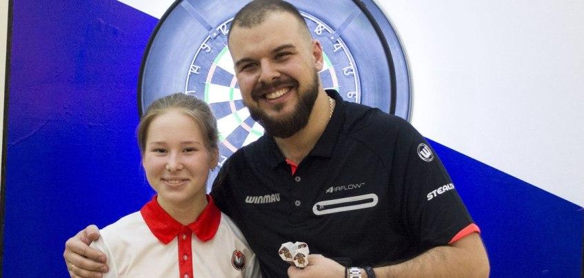 Ижевчанка Арина Харитонова стала чемпионкой России по дартсу