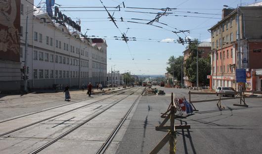 К 1 августа в Ижевске откроют улицу Карла Маркса