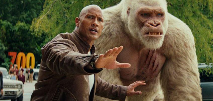 Дуэйн «Скала» Джонсон – зоолог и набор монстров – ижевчане о фильме «Рэмпейдж»