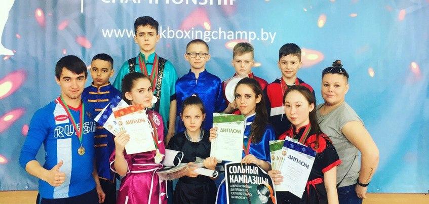 Кикбоксеры из Удмуртии выиграли 13 медалей на открытом чемпионате Белоруссии