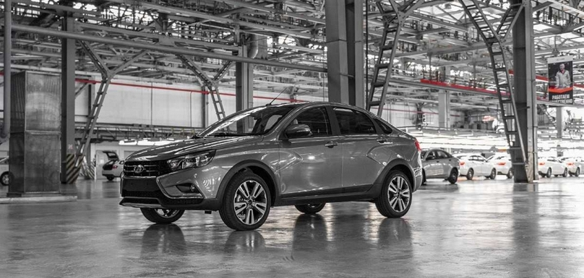 Выпуск новой модели Lada Vesta стартовал в Ижевске