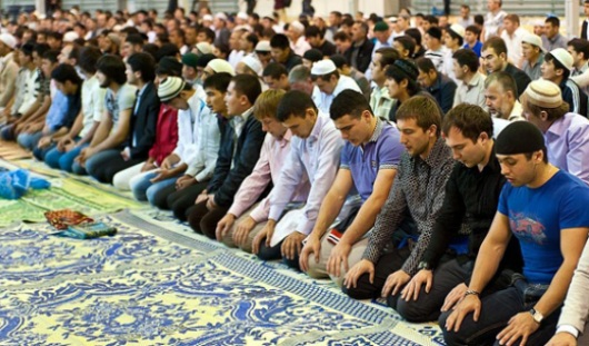 28 июля в Ижевске прошел мусульманский праздник Ураза-байрам