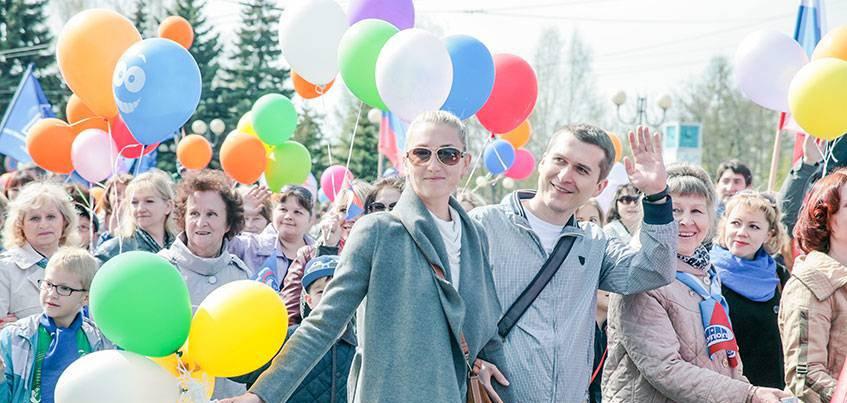 Первомайская демонстрация, соревнования на беговелах и уличный баскетбол пройдут в Ижевске 1 мая
