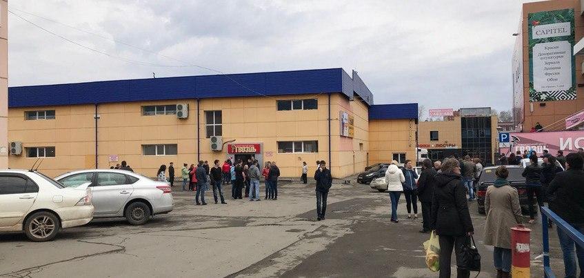 Торговый центр «Гвоздь»эвакуировали в Ижевске
