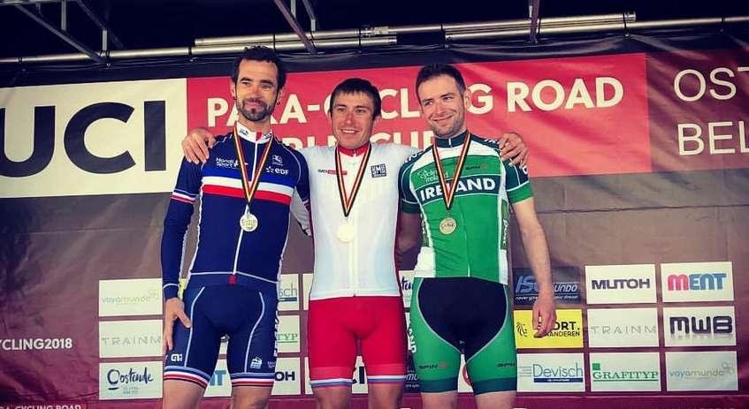 Паралимпиец из Удмуртии победил на первом этапе Кубка мира по велоспорту