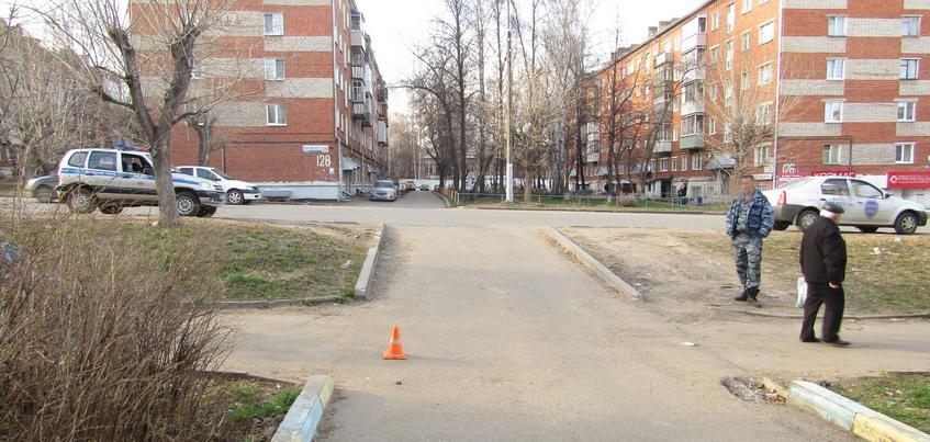 8-летнего велосипедиста сбили в Ижевске