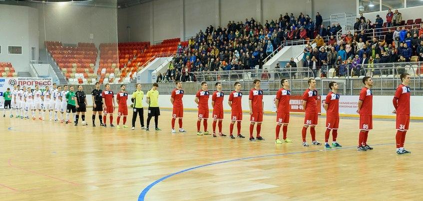 Мини-футбольный «Прогресс» снят с участия в плей-офф Суперлиги