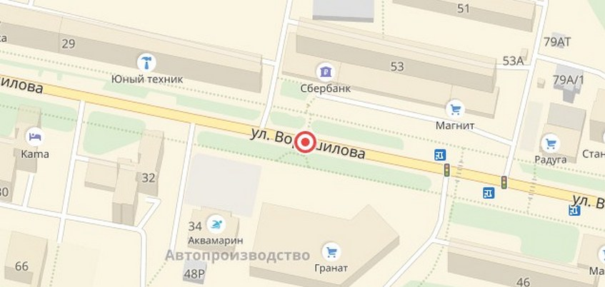 Пешеходный переход ликвидируют на улице Ворошилова в Ижевске