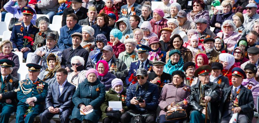 День Победы в Ижевске: 12 фото праздника