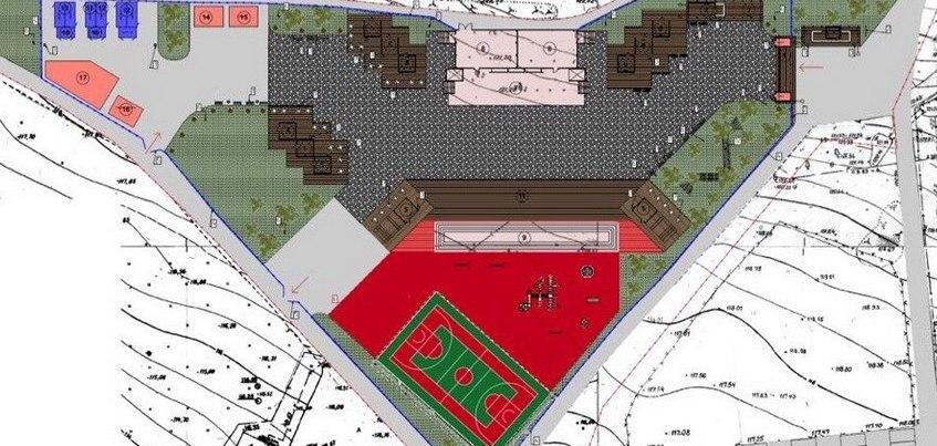 Фотофакт: строительство фан-зоны к чемпионату мира по футболу началось в Ижевске