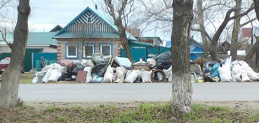 Когда вывезут мусор из частного сектора в Ижевске?
