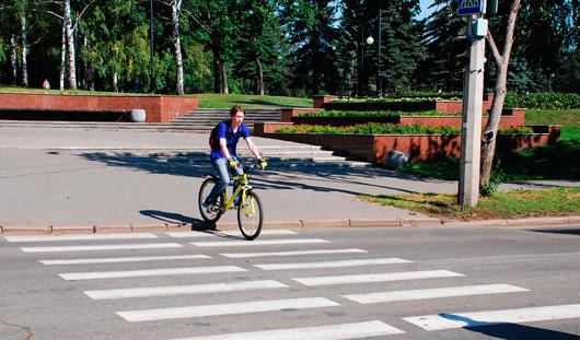 Ижевчане ездят на велосипеде на работу чаще, чем москвичи