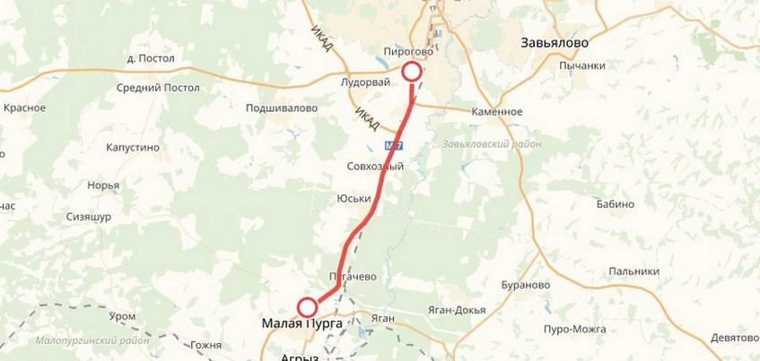 Из-за взрывов в Пугачево перекрыт участок трассы от Ижевска до Малой Пурги