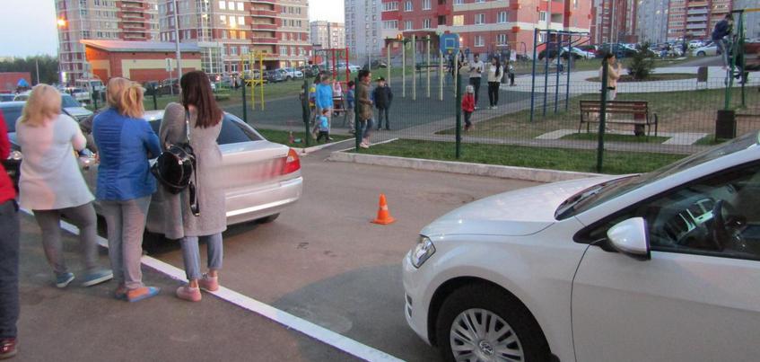 Маленького мальчика сбила иномарка в Ижевске