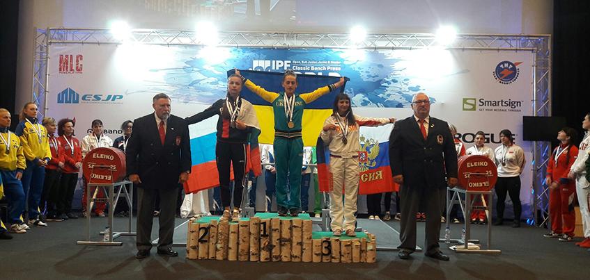 Ижевчанка завоевала серебро на чемпионате мира в жиме лежа