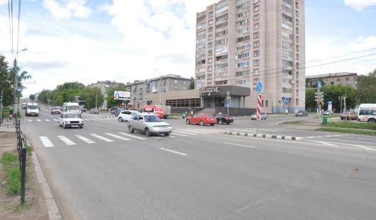 В Ижевске на перекрестке улиц