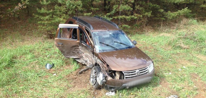 Пять человек пострадали в столкновении четырех машин под Ижевском