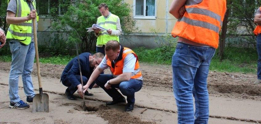 Ремонт улицы Ялтинской в Ижевске остановили из-за брака