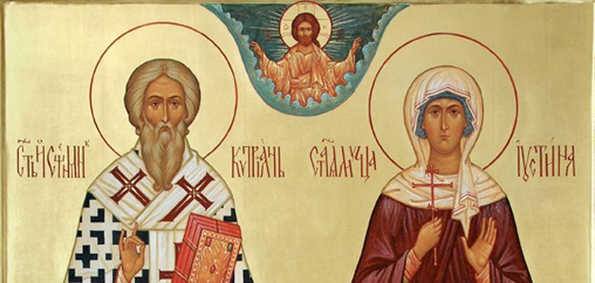 В Ижевск привезут мощи святых Киприана и Иустины