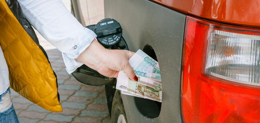 Бензин в Ижевске впервые достиг отметки в 50 рублей за литр